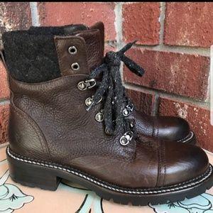 FRYE Samantha Hiking Boots